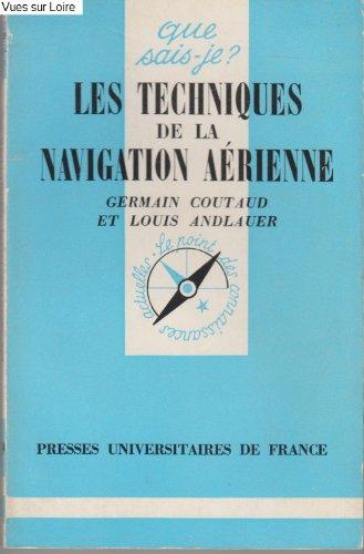 Les techniques de la navigation aérienne