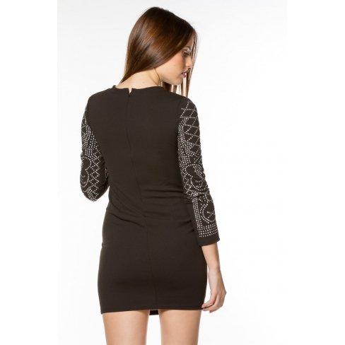 Princesse boutique - Robe NOIRE ornementée Noir