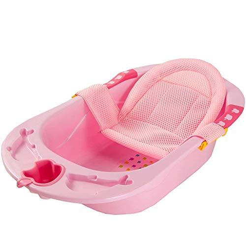 Badewanne, Pools Babywanne Aufblasbare Isolierung Baby-Newborn kleine Kinder Barrel Große Eindickung Kann Badewannen -Pink Gefaltete Sit