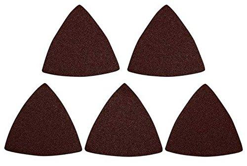 Agrartechnik-Graf Schleifpapier für Schleifpad P120 Körnung 5er Set für Black & Decker Multitool