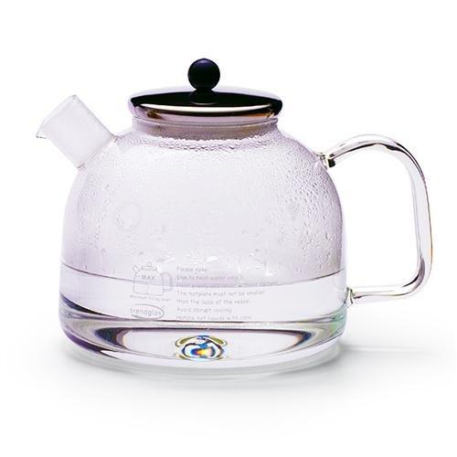 Trendglas Jena Wasserkocher mit Edelstahldeckel, 1,75 Liter