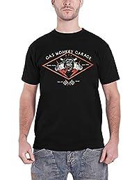 Gas Monkey Garage T Shirt Speed Shop Quality Builds Nuevo Oficial de los Hombres