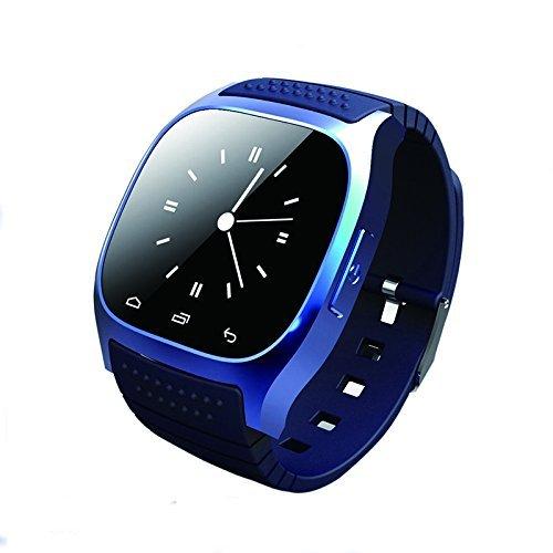 Bluetooth Smart Watch, Hinmay sbloccato cellulare orologio con Passometer monitor SMS orologio da polso, impermeabile Smartwatch per iOS Android Samsung iPhone 7Plus 6S adulti bambini