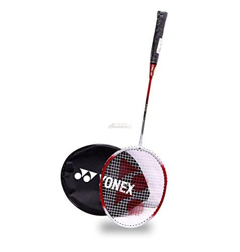 Yonex GR-301 Blend Badminton Racquet (Red/Silver)