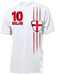 FOOTBALL WORLD CUP - EUROPEAN CHAMPIONSHIP ENGLAND FAN T-Shirt Homme Small - XX-Large