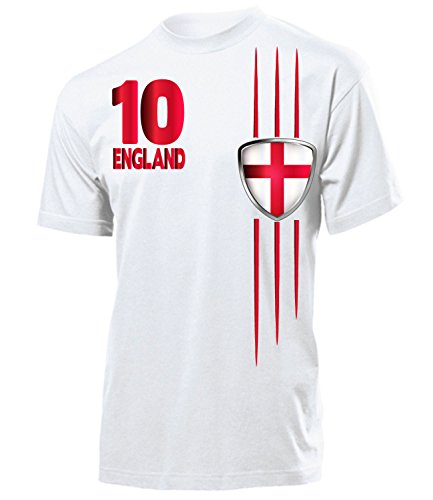 England Fanshirt Streifen 3220 Herren T-Shirt (H) Gr. M