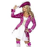 Donna Sexy Fever Rosa Partito Principessa Pirata