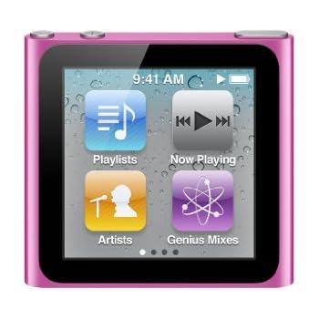 Apple Ipod Nano Mp3 Player 16 Gb 6 Generation Multi Touch Display