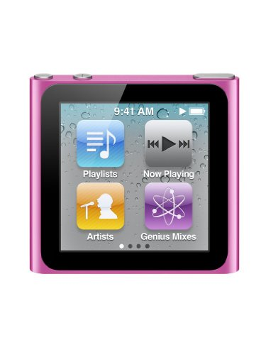 Apple iPod nano MP3-Player 16 GB (6. Generation, Multi-touch Display) pink (Ipod 5 Dock Pink)