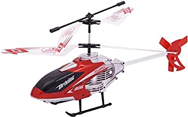 Bheem Remote Control 3D Helicopter Durable King and Lights (Multicolour)