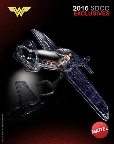 DC Multiverse Actionfigur Wonder Woman mit Invisible Jet SDCC Exclusive (Jet Woman Wonder Invisible)