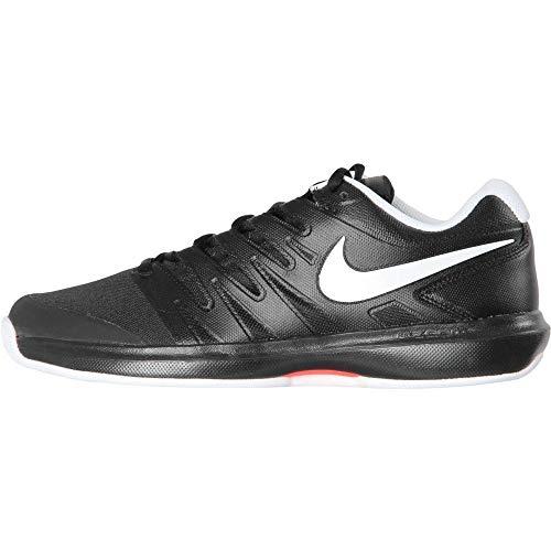 Nike Herren Air Zoom Prestige Cly Tennisschuhe, Mehrfarbig (Black/White-Bright Crimson 001), 45 - Tennis Prestige Zoom Nike Air