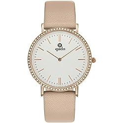 Qudo Ladies 'Watch Beige/4S/hellgrau 801526