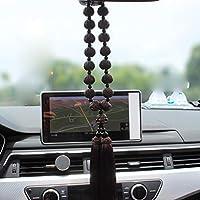YEbao Auto R/ückspiegel S/ü/ß Pl/üsch Anh/änger Ornamente Safety Car Anh/änger Wei/ße