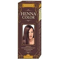 Henna Color 18 Cereza Negra Cherry Bálsamo Capilar Tinte Para Cabello Efecto De Color Tinte De Pelo Natural Gallina Eco