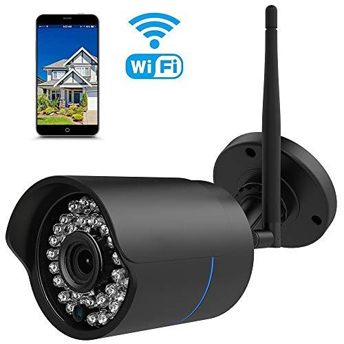 HUAYUU IP Kamera Indoor/Outdoor HD 1080P Infrarot f¨¹r Au?en Wasserdicht WLAN Kamera Au?en Drahtlose Cam mit WiFi ?berwachungskamera Netzwerkkamera, Unterst¨¹Tzung FTP
