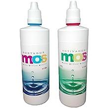 MOS clorito de sodio 25% + HCL ácido clorhídrico 4 %, Frascos gotero de alta calidad y fácil dosificación 140 ml.