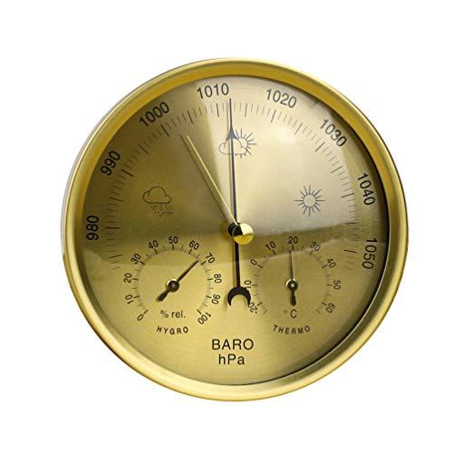 Dupeakya Barometer für Innenwetterstation, Hygrometer Thermometerfunktionen, Messen Luftfeuchtigkeit Temperatur Luftdruck