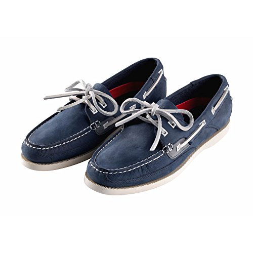 Gill Womens Baltimore Deck Shoes - Navy Navy Nubuck