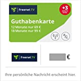Guthabenkarte für freenet TV - für Deutschland - per E-Mail
