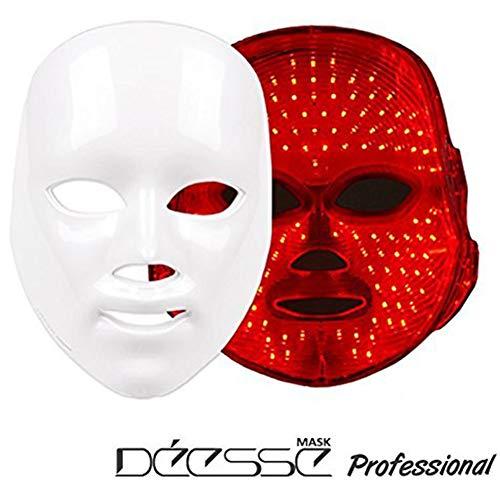 DEESSE Professionelle LED-Gesichtsmaske, Startseite ästhetischer Maske, Nur rote Farbe LED Selbstpflege SBT-MASK-STD