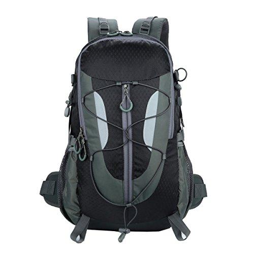Yy.f Neue Outdoor-Reise Bergsteigen Taschen Handtaschen Männer Und Frauen Paare Reisen Reiten Wasserdichte Rucksack 30L. Mehrfarbig Orange