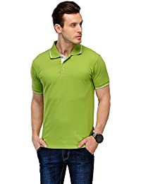 B&W Organic Cotton Polo T-Shirt - Apple Green