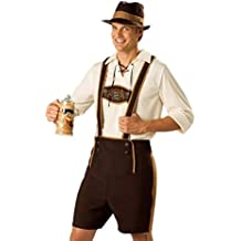 Disfraz de Traje bavaro de hombre vestido de Oktoberfest Costume suit Regional de Baviera Cosplay para