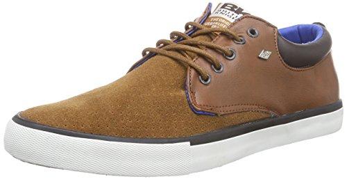 British Knights - Juno, Sneakers da uomo, marrone (cognac-black-blue 03), 41