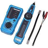 sdfghzsedfgsdfg RJ11 RJ45 Cat5 Cat6 Teléfono del perseguidor del alambre de red LAN Ethernet de tóner