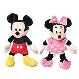 PLAY BY PLAY Peluche Mickey Minnie Disney soft 12cm surtido