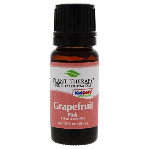 Plant Therapy Grapefruit Pink Essential Oil | 100% Pure, Undiluted, Natural Aromatherapy, Therapeutic Grade | 10 mL