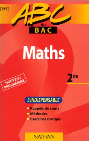 ABC maths, seconde
