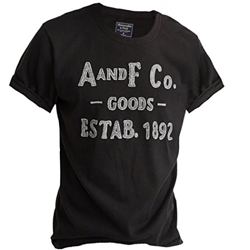 abercrombie-homme-logo-crew-tee-t-shirt-top-courte-taille-s-noir-625288260