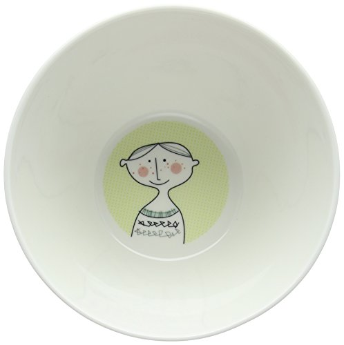 Sandra Isaksson Familjen Sugar Bowl Porcelain Multi-Colour 9 x 9 x 8.5 cm