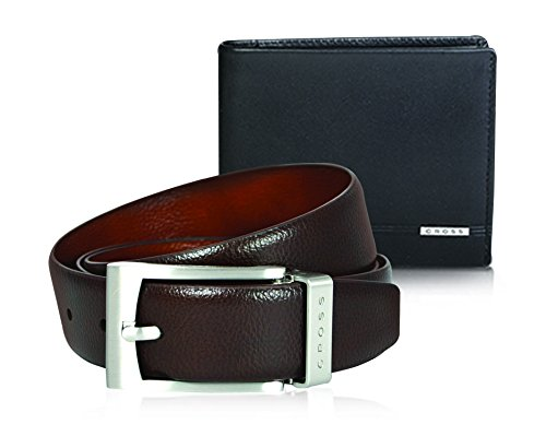 CROSS Autumn Winter Collection 2017 Classic Century Bi-Fold Card Wallet and Belt Combo