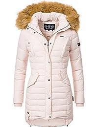 d005e2e7c941 Navahoo Damen Winter Mantel Steppmantel Täubchen (vegan hergestellt) 8  Farben + Camouflage XS-