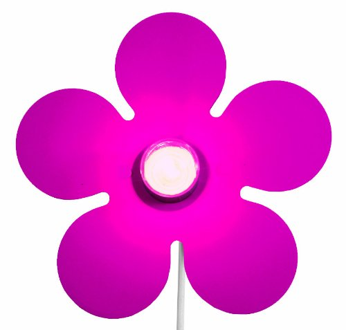 Niermann Standby Wandleuchte Happy-Flower, magenta 321