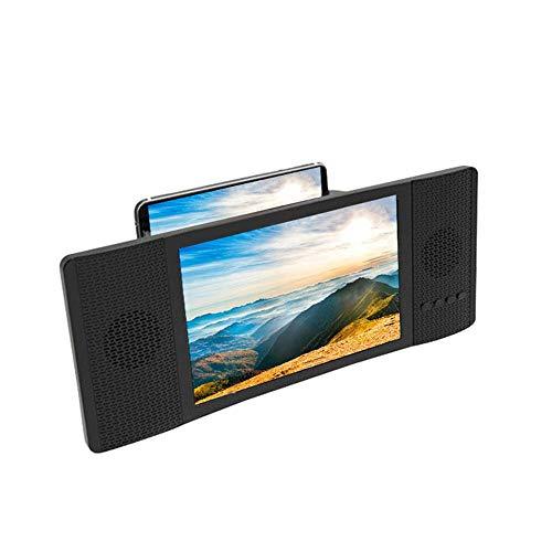 TEEPAO Amplificador Lupa de Pantalla Bluetooth 4.2 con Altavoz, Lupa Plegable Portátil...
