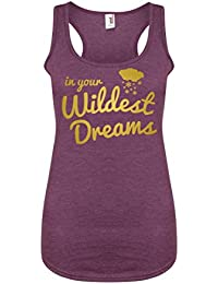 In Your Wildest Dreams - Purple - Women's Racerback Vest - Fun Slogan Tank Top