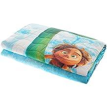 Trapuntino Caleffi Disney Pixar The Good Dinosaur el viaje de Arlo Impresión Digital puro algodón 100% Spring 170x 265cm