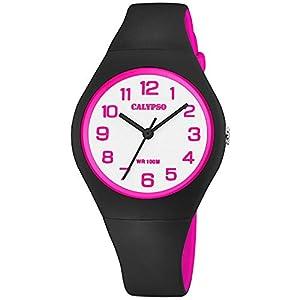 Calypso Reloj Analógico para Mujer de Cuarzo con Correa en Silicona K5777/8