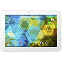 BQ Edison 3 - Tablet de 8 pulgadas (WiFi 802.11 a/b/g/n, Bluetooth 4.0, GPS, MediaTek Quad Core Cortex A7 1.3 GHz, 1 GB de RAM, memoria interna de 16 GB, Android 4.4 KitKat), color blanco - (Reacondicionado Certificado por BQ)