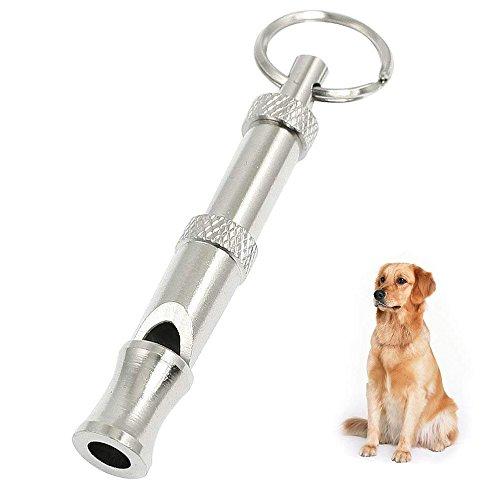 JoyFan Ultraschall Hunde Pfeife Edelstahl Hundepfeife Einstellbarer Frequenz Training Pfiff für Hunde