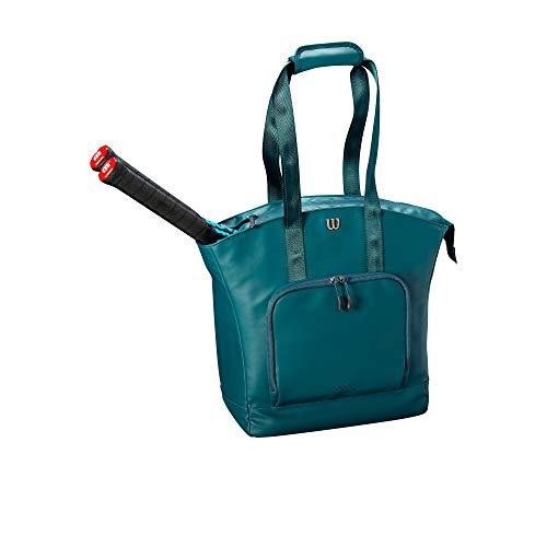 WILSON Damen Womens Tote Tennis Bag, Green, 2 Rackets -