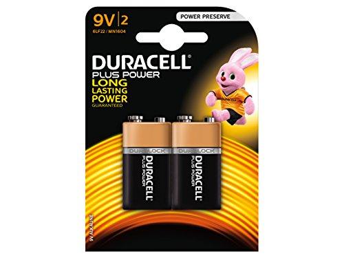 Duracell Twin Stück 9V Batterien-xms16batt9V -