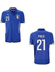 Puma Italie maillot Home enfants 2014/2015 – Pirlo 21