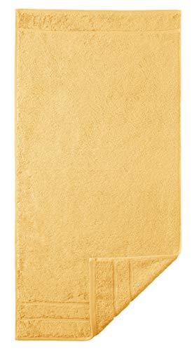 Toalla amarilla de algodón Prestige, 50 x 100 cm