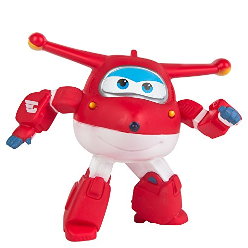 Super Wings - Jett figura articulada Super Wings (ColorBaby 85129)