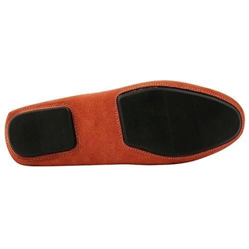 Exclusif Paris Exclusif Paris Boat, Chaussures homme Chaussures casual, Herren Slipper & Mokassins Orange